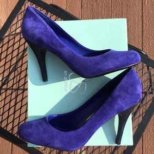 Jessica Simpson Indigo Purple heels